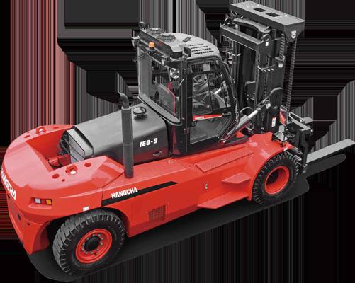 Chariot élévateur diesel et gaz de 12T 14T 16T & 18T