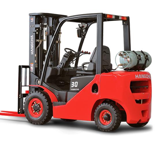 Chariot élévateur diesel et gaz de 3T & 3,5T