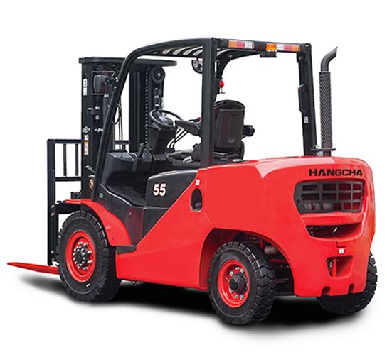 Chariot élévateur diesel et gaz de 4T à 5,5T
