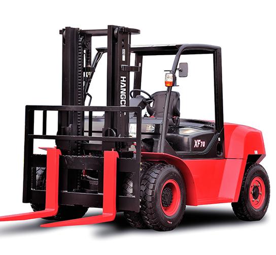 Chariot élévateur diesel et gaz de 5, 6 & 7T (600mm)