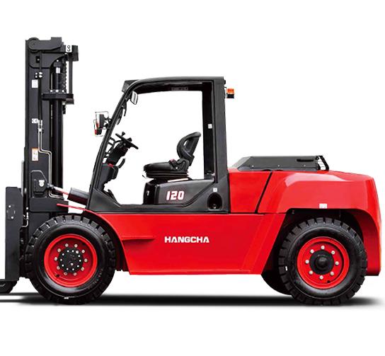 Chariot élévateur diesel et gaz de 8, 10T & 12T (600mm)