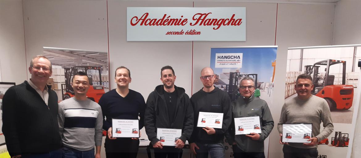 HANGCHA France a lancé la première cession de son académie
