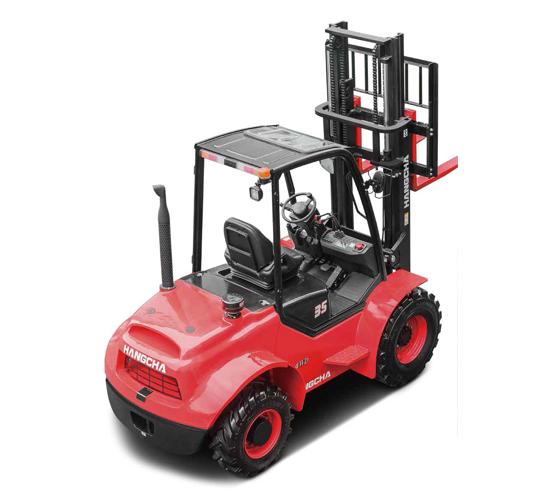 Chariot élévateur tout-terrain 4 RM de 2,5T à 3,5T